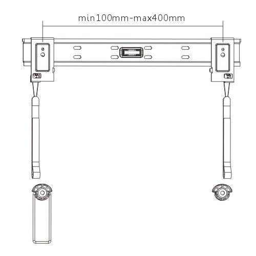 super slim wall mount is designed