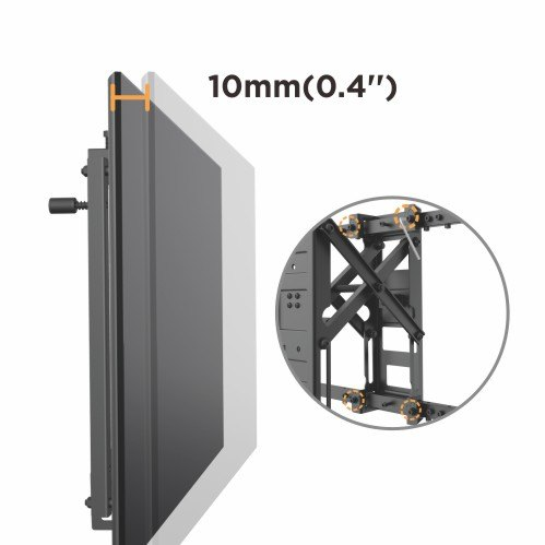LOW COST VIDEO WALL MOUNT
