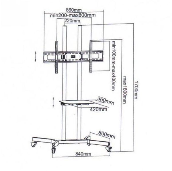 HOT floor stand -Y700